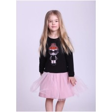 Платье Doll Lol Black р.98-140